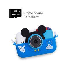 Детский цифровой фотоаппарат Микки синий