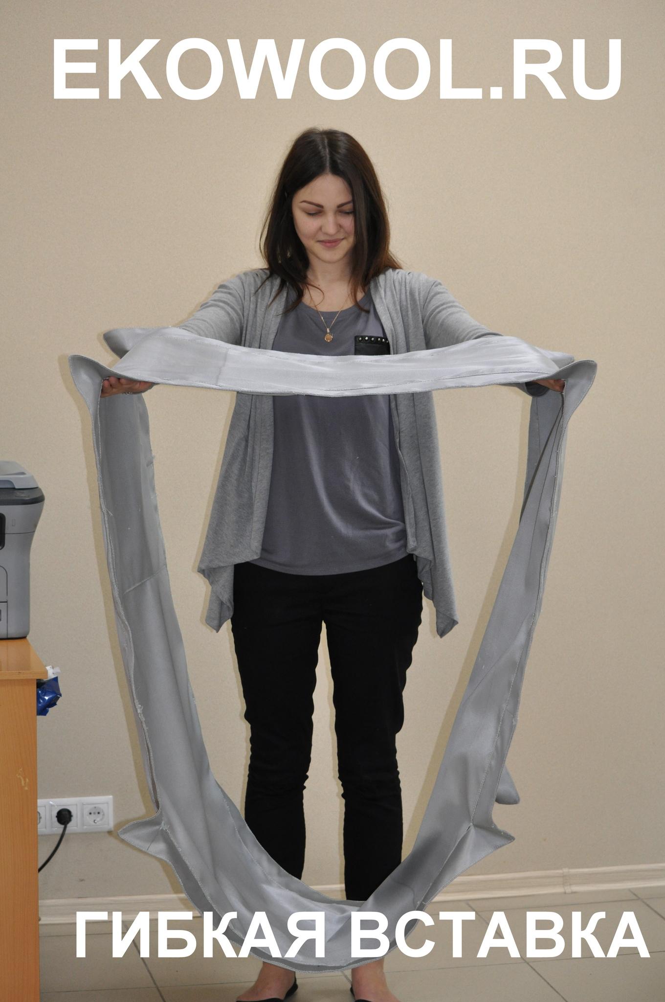 нестандартный размер гибкой вставки для воздуховодов