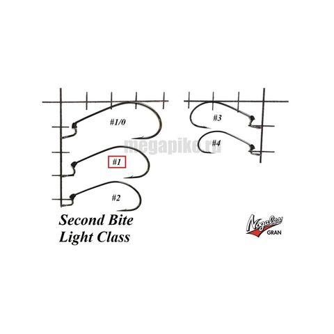 Офсетные крючки Varivas Nogales Second Bite Light Class #1 (7 шт. в уп.)