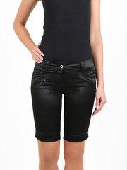 082241 шорты женские, черные