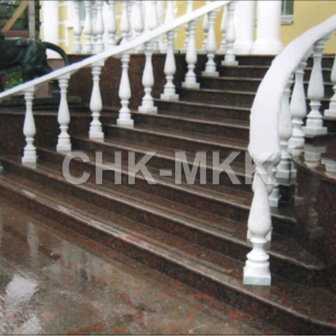Лестница №2 Капустинский гранит
