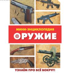 071-0208 Мини-энциклопедия «Оружие», 20 страниц