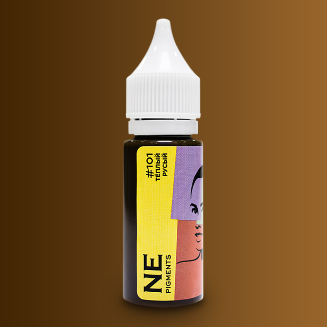 Пигмент NE Pigments #101 Русый тёплый