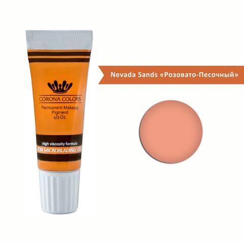 Пигмент Corona Colors для микроблейдинга Nevada Sands «Песчаный Невада» 15 мл