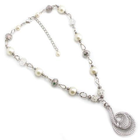 Ожерелье из чешского стекла