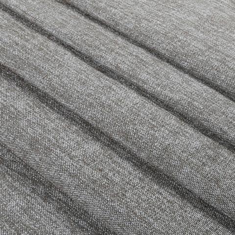 Блэкаут лен для штор серый. BLL-207