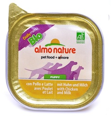 Консервы (ламистер) Almo Nature Daily Menu Bio - Pate Puppy