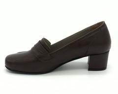 Туфли закрытые на среднем каблуке