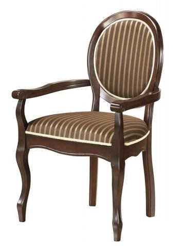 Кресло FN-AC Fiona 600х520х970 МиК темный орех