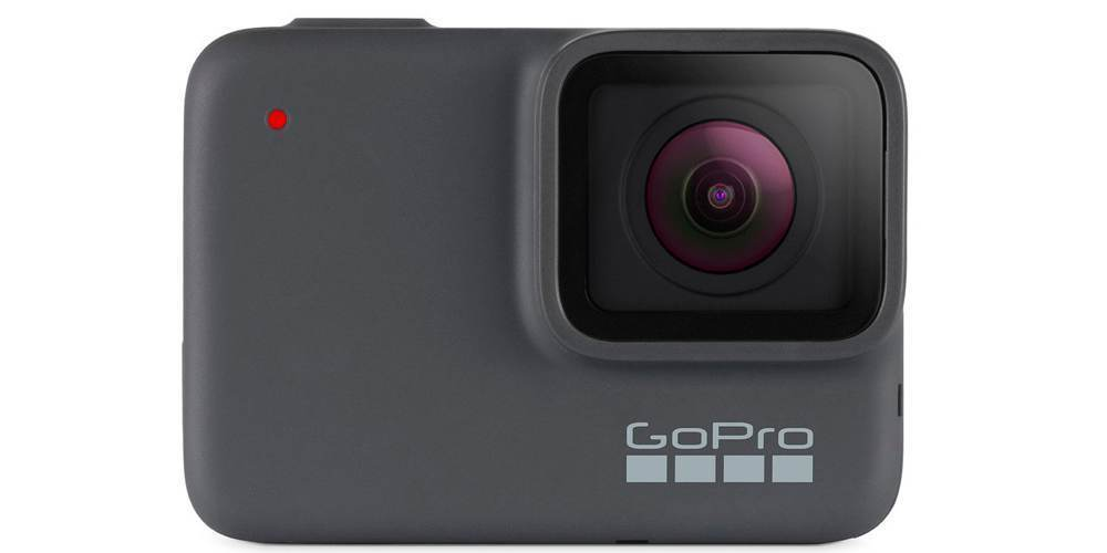 GoPro HERO7 Silver Edition (CHDHC-601-LE) вид спереди