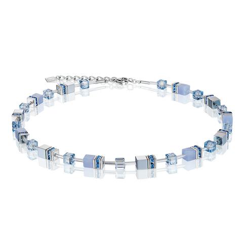 Колье Coeur de Lion 4017/10-0720 цвет голубой, прозрачный