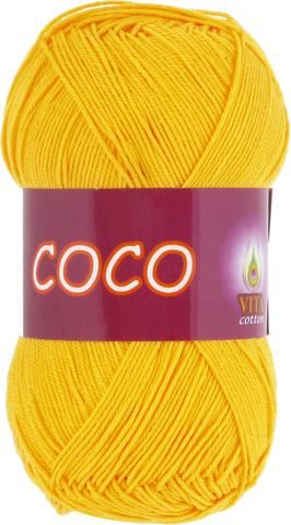 Пряжа Vita Coco 3863 желтый