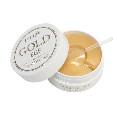 Патчи для глаз с золотом PETITFEE Gold & EGF Eye•Spot Patch  1,1гр*60