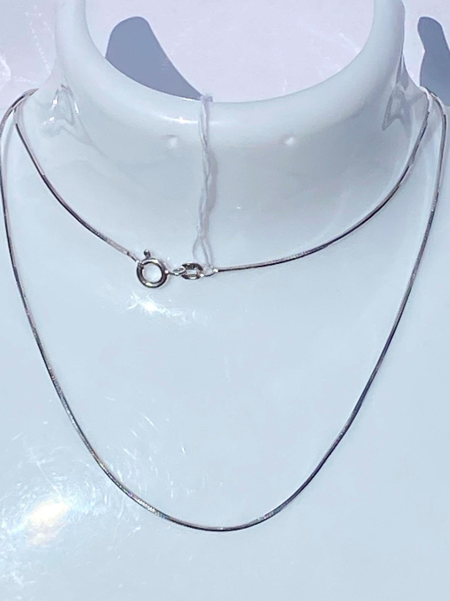 Снейк восьмигранный (цепочка из серебра)