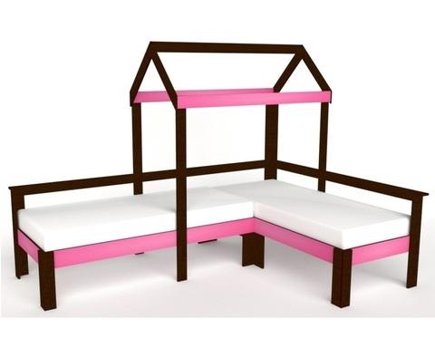 Кровать-домик АВАРА-1 левая