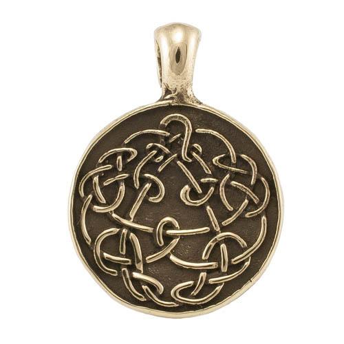 Кельтский стиль Кельтский секрет кулон RH.jpg