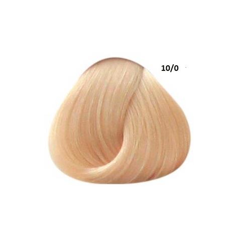 Перманентная крем-краска для волос Ollin 10/0 светлый блондин