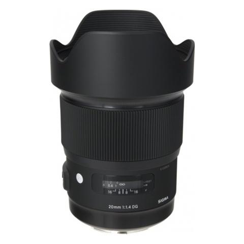 Sigma AF 20mm f/1.4 DG HSM Art Canon