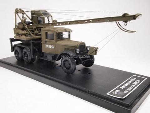 ZIS-6 truck crane AK-3 khaki 1:43 Miniclassic