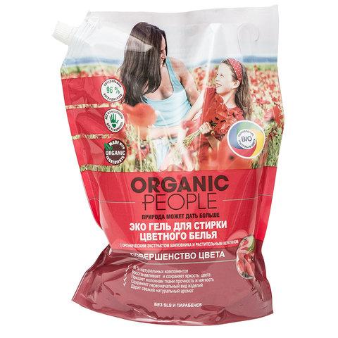 Organic People, Эко-гель для стирки цветного белья, 2000мл