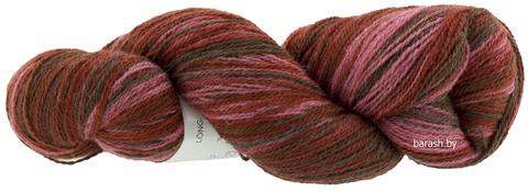 Пряжа Кауни 8/2 Brown-pink (коричнево- розовый)