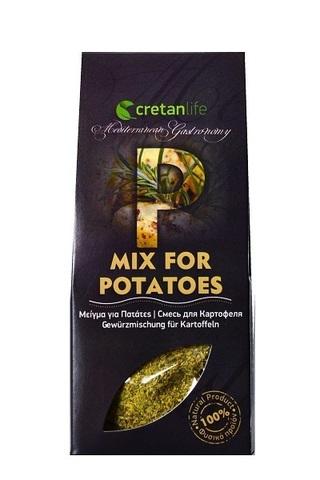 Греческая приправа для картофеля CretanLife