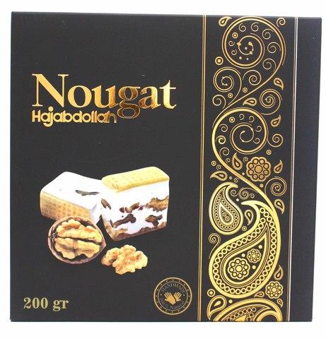 Нуга с грецким орехом в подарочной упаковке, Hajabdollah, 200 г