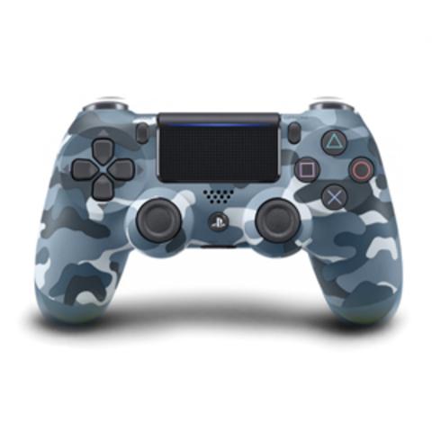 PS4 Беспроводной контроллер DualShock 4 (камуфляж синий, CUH-ZCT2E: SCEE)