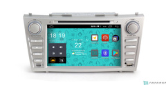 Штатная магнитола 4G/LTE с DVD для Toyota Camry V60 06-11 Android 7.1.1 Parafar PF064D