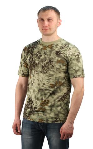Купить камуфляжную футболку Питон Wood - Магазин тельняшек.ру 8-800-700-93-18