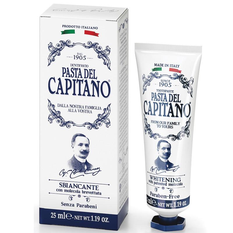 Паста del Capitano 1905 Отбеливающая 25 мл