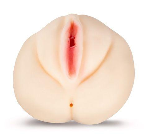Телесный мастурбатор-вагина с узким входом