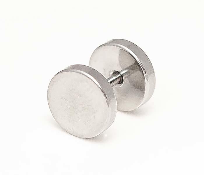 ER462-1 Круглые серьги винты из стали