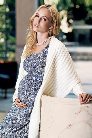 Кардиган для беременных 04406 экри