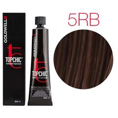 Goldwell Topchic 5RB (темно - красный бук) - Cтойкая крем краска