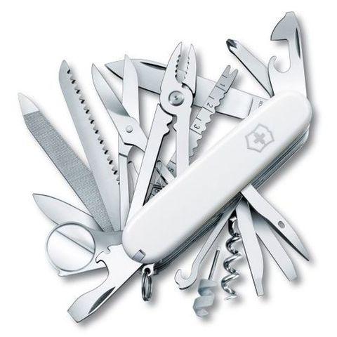 Нож перочинный Victorinox SwissChamp (1.6795.7R) 91мм 33функций белый
