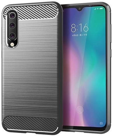 Чехол Xiaomi Mi 9 SE цвет Gray (серый), серия Carbon, Caseport