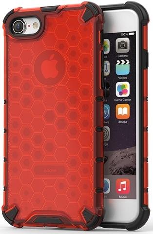 Чехол красного цвета на iPhone 7 и iPhone 8, ударопрочный от Caseport, серия Honey