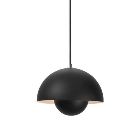Подвесной светильник копия Flowerpot by Verpan Panton (черный)