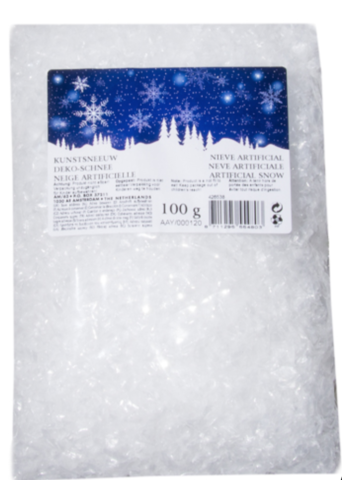 Снег искусственный, 100г