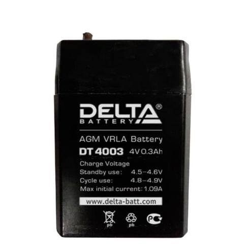 Аккумуляторная батарея Delta DT 4003