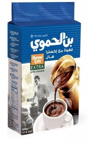 Арабский кофе с кардамоном Extra Cardamom, Hamwi Cafe, 500 г