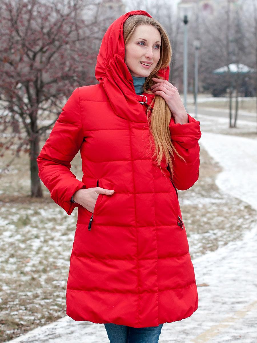 Joutsen пуховик Erica красный - Фото 1
