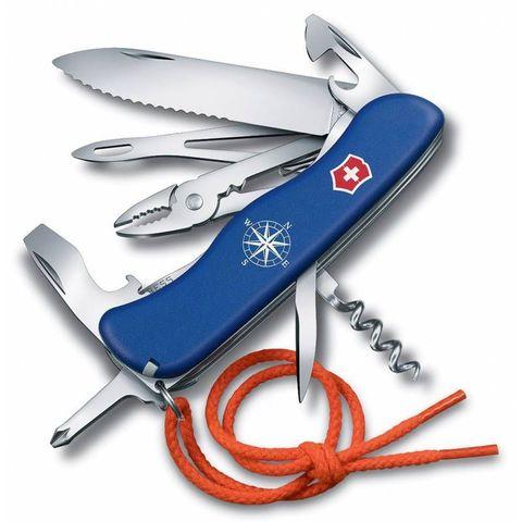 Нож перочинный Victorinox Skipper (0.8593.2W) 111мм 18функций синий