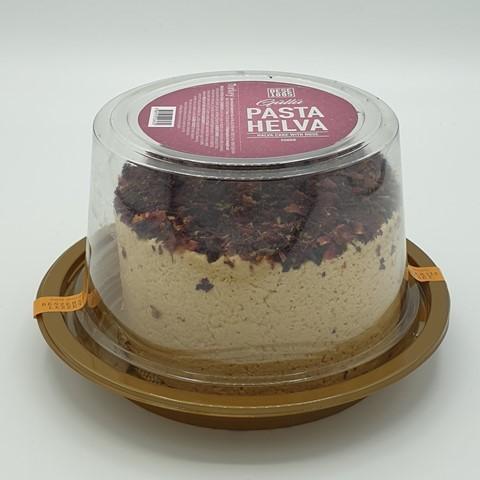 Халва (торт) тахинная с лепестками роз PASTA HELVA