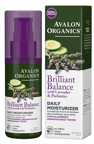 Дневной увлажняющий крем с лавандой, Avalon Organics