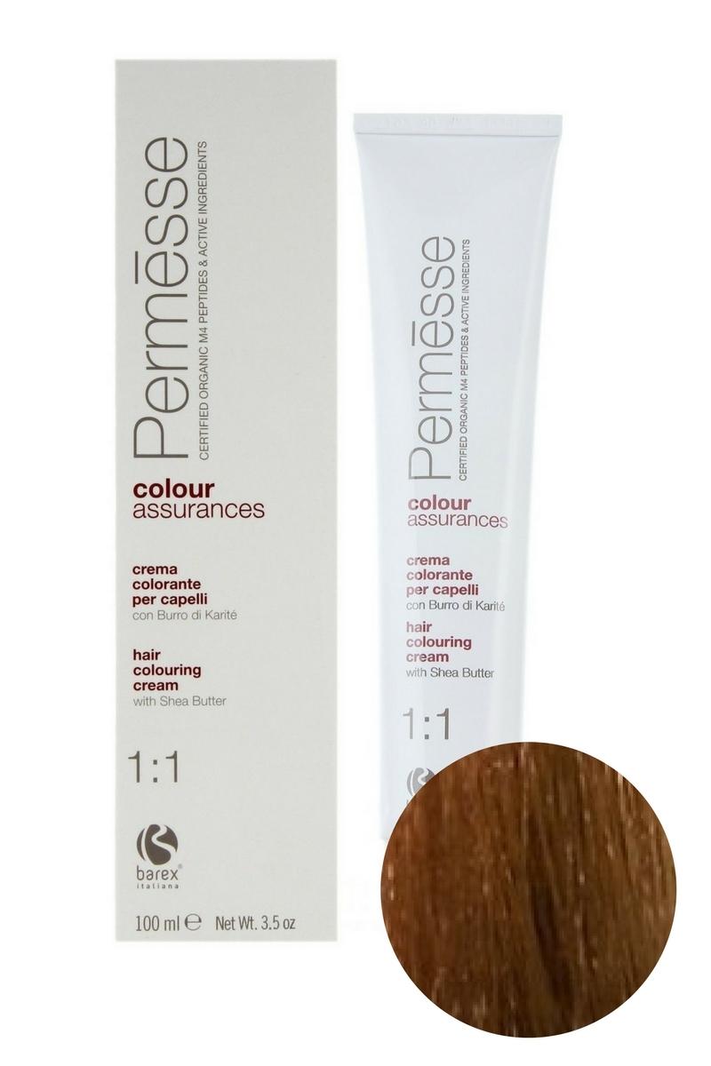 Крем-краска для волос 8.73 Блондин тропический светлый Permesse, Barex