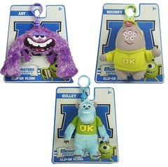 Monsters University Little Friends Clip On