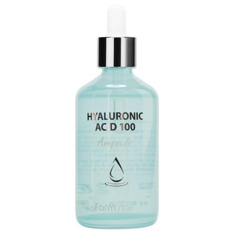 Сыворотка ампульная с гиалуроновой кислотой FarmStay Hyaluronic Acid 100 Ampoule 100мл