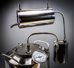 Самогонный аппарат «Премиум», с термометром и расширенной горловиной, фото 11